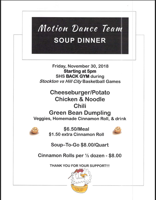 Motion Dance Soup Supper